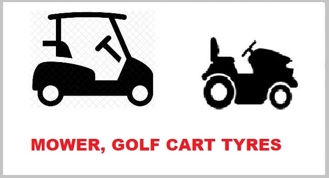 MOWER/GOLF CART TYRES